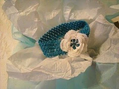 Crochet Baby Headband Pattern