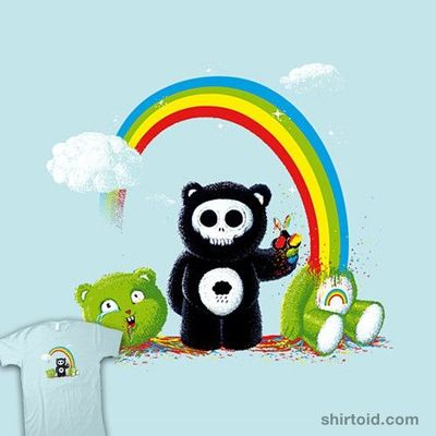 "�€œOver the Rainbow�€��€ by Vincent Bocognani aka vinsse aka vintz Snip, snip. Enough with those bears that care �€"" let's just see what flows through those happy-go-lucky stuffed bears of joy. Rainbows �€&quo..."