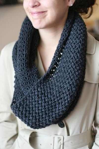 infinity scarf - free knitting pattern / Knits and stitch ...