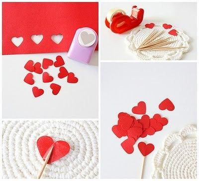Paper Heart Tutorial Diy Craft