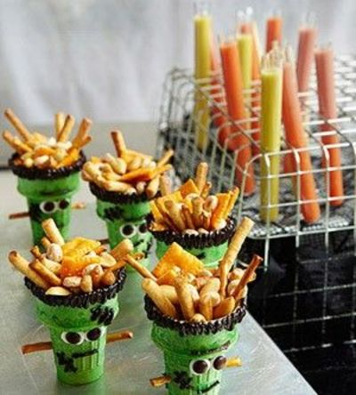 cute snack idea for halloween party preschool items