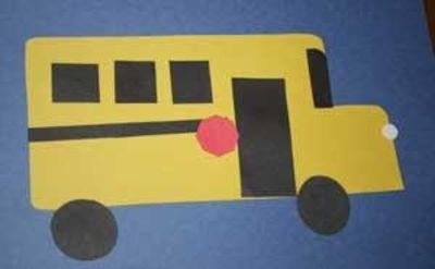 Cute and easy school bus craft
