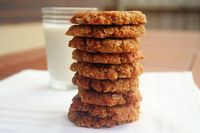 Anzac Biscuits: This is definitely not an Italian recipe. It is as Aussie as it gets. But then�€� I am Australian ...[read more at Food Frenzy]