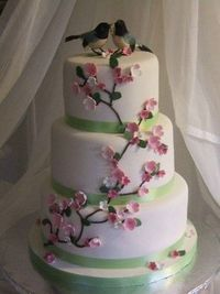 cute for cake..i would use different birds