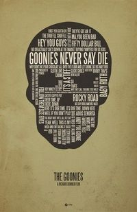 The Goonies poster by Jerod Gibson