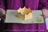 A Royal Crown Pop-Up Card