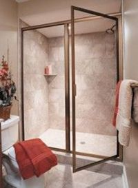 Thinline 3/16 Framed / Frameless Pivot Enclosure - Door & Panel