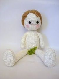 amigurumi naked boy