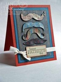 Many Mustaches Father's Day Card