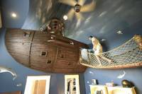 Ultimate Pirate Ship Bedroom by Kuhl Design Build HomeDSGN a daily source for inspiration and fresh ideas on interior design and home decoration.