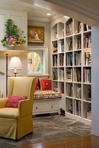 Bookcases in living room?