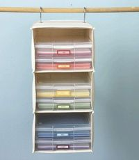 Scrapbooking organization