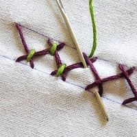 How-To Instructions for nearly any embroidery stitch