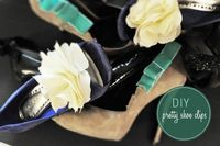 diy shoe clips