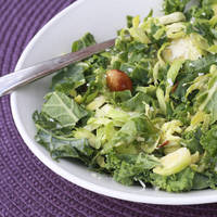 The Sweets Life: Kale and Brussels Sprouts Salad