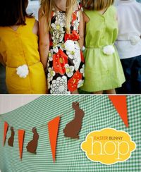 """{Super Adorable} Easter """"Bunny Hop"""" Party By Hostess With the Mostess -- see more at LuxeFinds.com"""