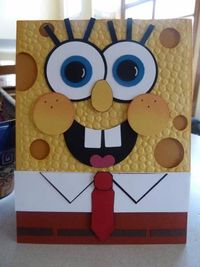 Spongebob Punch Art