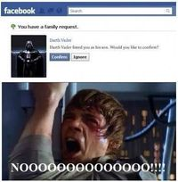 Star Wars on Facebook