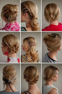 Up do's for hair