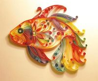 Rolled Paper Fish