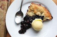 #Blueberry #Galette