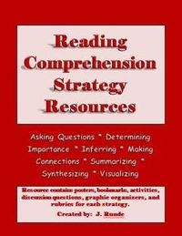 Reading Comprehension Strategy Binder - 183 pages of resources for teaching the comprehension strategies $9.99