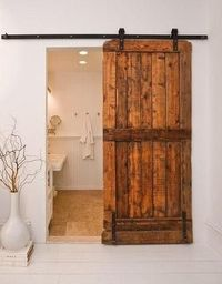 Bathroom, old and new, rustic chic, farmhouse zen
