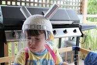 Need more ideas for space helmet craft...got a 4-year-old's birthday party coming up!