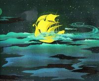 Peter Pan concept art by Mary Blair