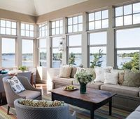 Bright and airy - with a view