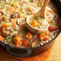 beef and barley stew--and it's good for you!