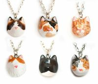 custom necklace of your cat by le animalé