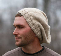 Very Slouchy Hat for Men in Super Soft Alpaca CUSTOM ORDER from etsy.com