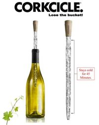 Corkcicle - keep wine chilled w/o an ice bucket