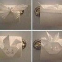 origami for tp roll