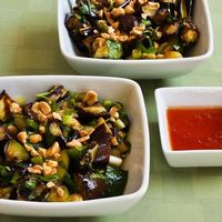 Spicy Grilled Eggplant and Zucchini Salad