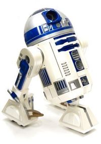 R2D2 DVD projector! How cool would that be to watch Star Wars on the wall?