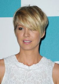 what fun short hair!