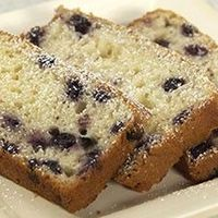 blueberry bread - uses Fiori di Sicilia which is an italian extract that taste like vanilla and orange.