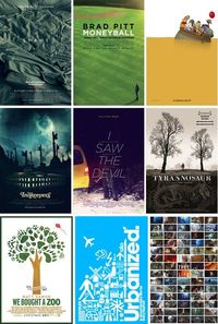 Best movie posters of 2011