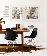Bold and bright dining