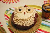 owl cake for owl party :D