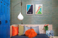 An admin assistant turned interior decorators first project