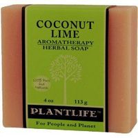 Coconut Lime 100% Natural Herbal Soap $3.50