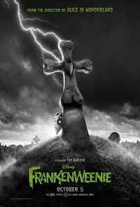 Disney FRANKENWEENIE One-Sheet Poster