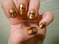 One Nail Polish to Rule Them All. I would so love to do this . . .