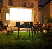 Outdoor movies - plan for this summer