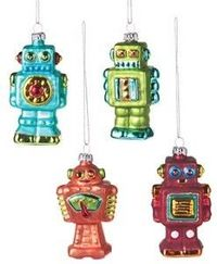Robot Ornaments.