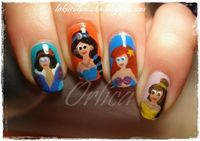 Disney Princess art. Not Fancy but still cute :)
