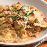 Tuscan Pasta With Tomato-Basil Cream a tried and true really really easy success